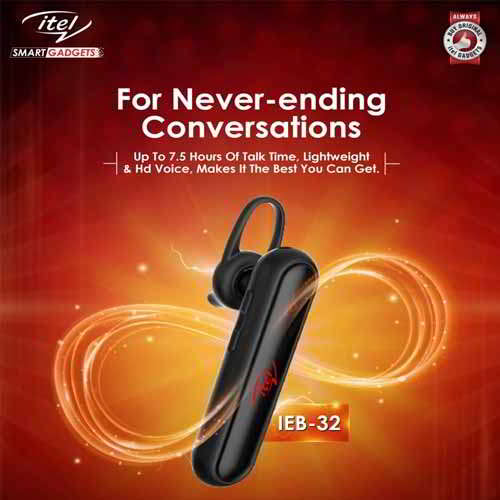 itel launches IEB-32 bluetooth headset and IPP-51 powerbank