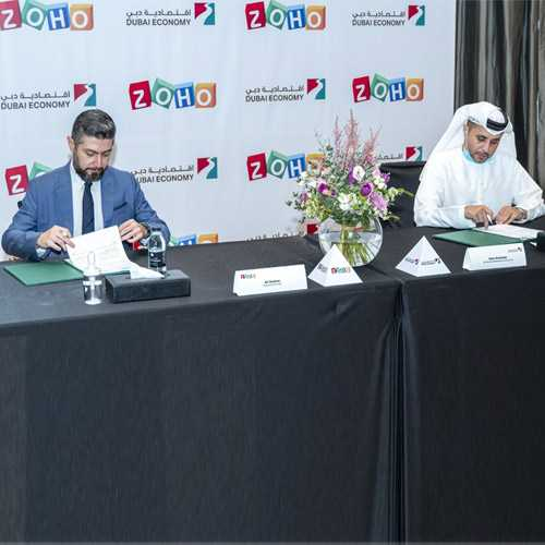 Dubai Economy and Zoho join hands to assist Dubai businesses in their digital transformation