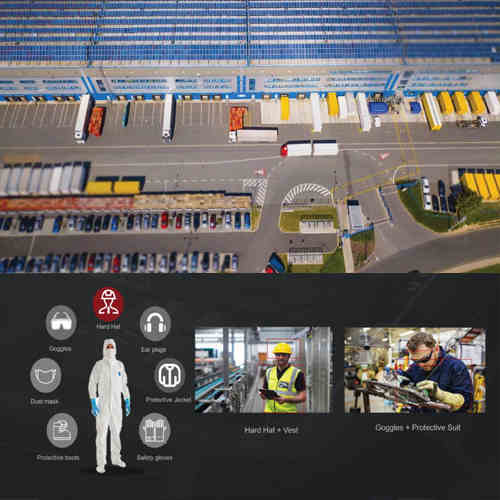 Logistics parks can improve efficiency and site security with smart video