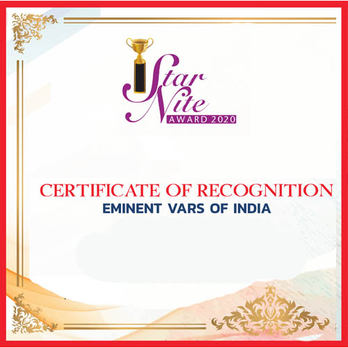 Eminent VAR's of India