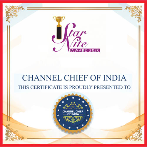 CHANNEL CHIEF OF INDIA
