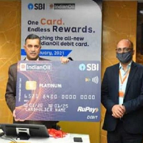 SBI, IOCL announces contactless RuPay debit card