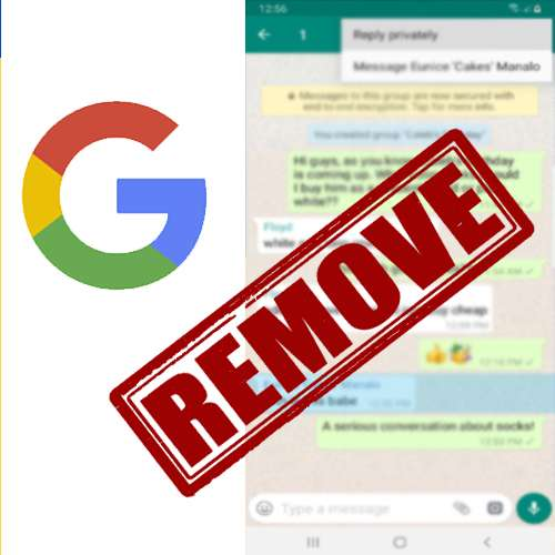 WhatsApp requests Google to remove group chat links