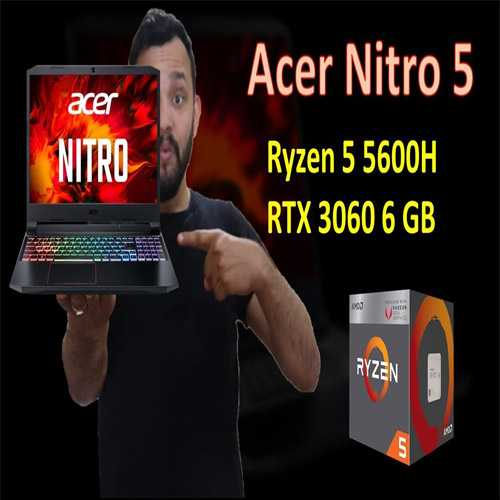 Acer introduces Nitro 5 with latest AMD Ryzen 5600H series processor